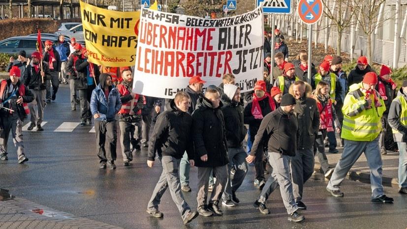 Kämpferische Betriebsversammlung in Eisenach