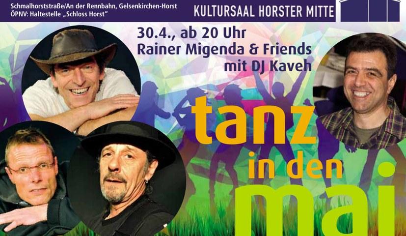 Auch in Gelsenkirchen wird in den Mai getanzt