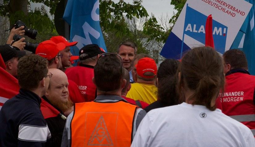 Klare Kante gegen Björn Höcke und die AfD