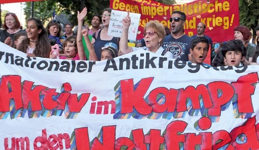 Die Mehrheit der Deutschen lehnen Aufrüstung und imperialistische Kriege ab (rf-foto)