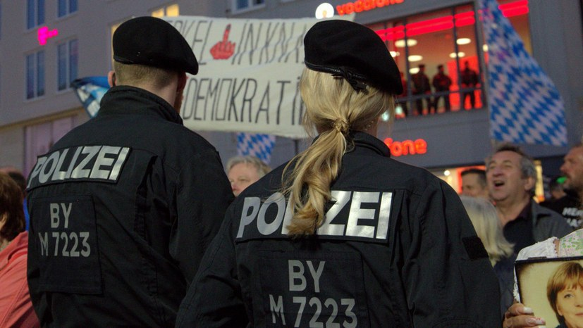 Bundesweite Demonstration gegen das neue Bayerische Polizeiaufgabengesetz