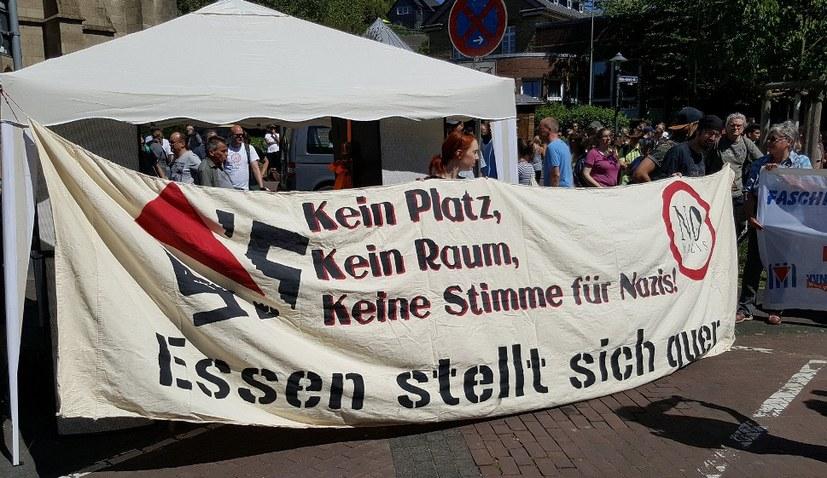 Erfolgreicher Widerstand gegen faschistische Demo in Essen