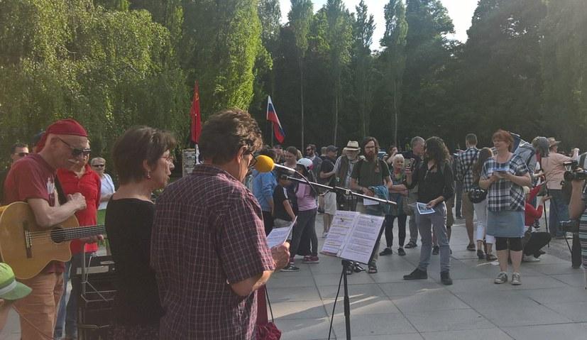 Friedenskampf und der Auftrag des 8. Mai