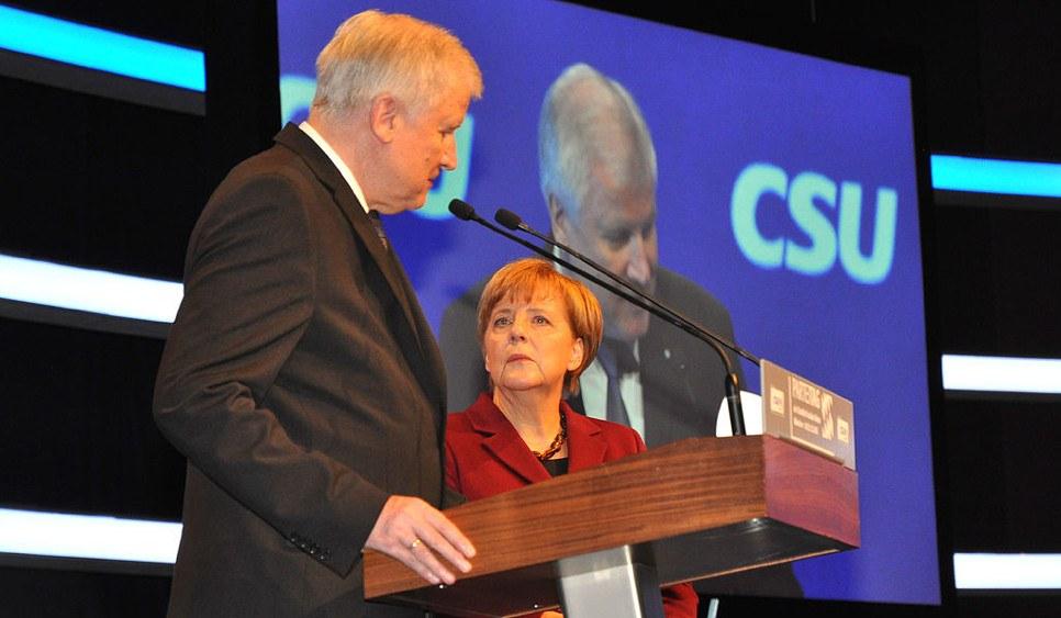 Brüten auf der Zugspitze neue Verschärfungen aus: Die Spitzen der Unionsparteien (Foto: Harald Bischoff (CC BY-Sa 3.0))