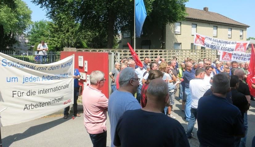 ZF will TRW in Gelsenkirchen schließen - MLPD ist solidarisch