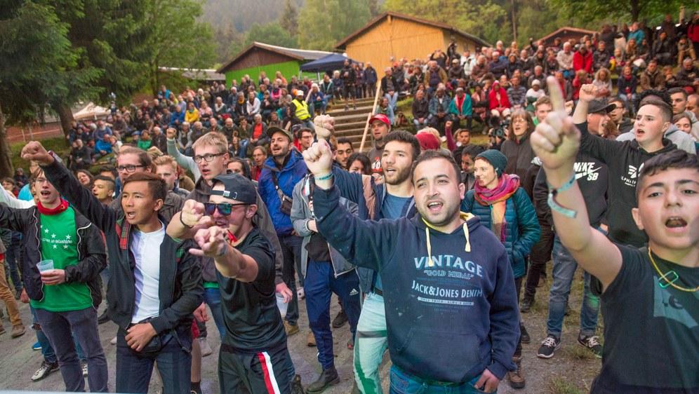 Ein Festival der rebellischen Kultur, der internationalen Solidarität  ...
