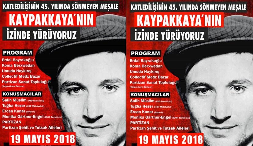 Monika Gärtner-Engel spricht auf Kayppakaya-Veranstaltung
