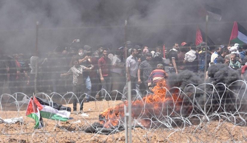 Solidaritätsgrüße an palästinensische Organisationen