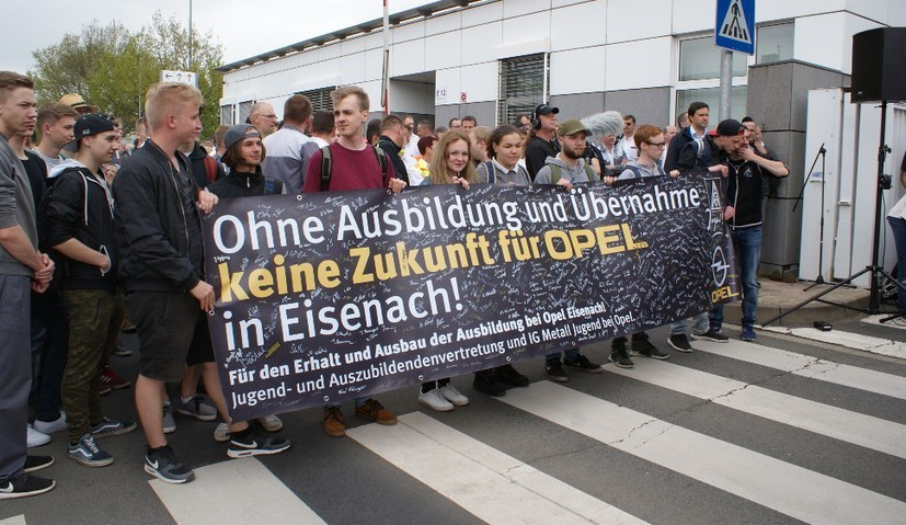 Verbrüderung der Opel-Belegschaften hervorragendes Signal