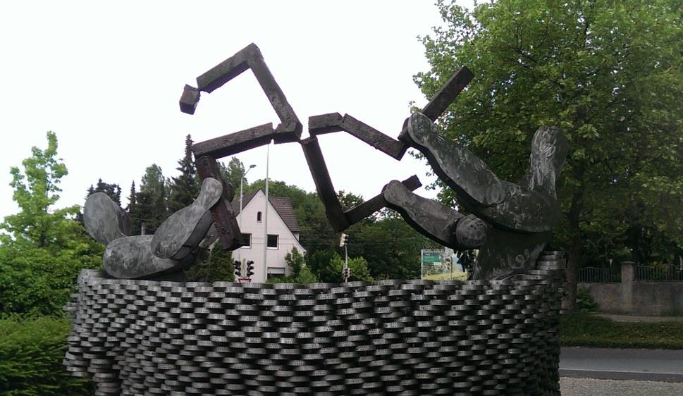 Das Mahnmal in Solingen (rf-foto)