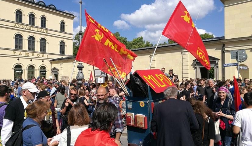 Massenprotest gegen das bayerische Polizeiaufgabengesetz in München (rf-foto)