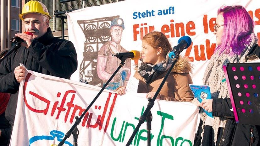 """""""Kumpel für AUF""""-Sprecher in der """"Lokalzeit Ruhr"""""""