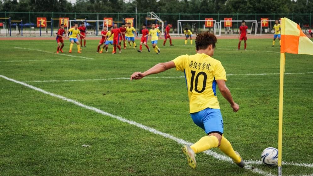 Teamgeist und Zusammengehörigkeitsgefühl machen den Fußball-Sport so anziehend (Foto: ouwence110 / Pixabay)