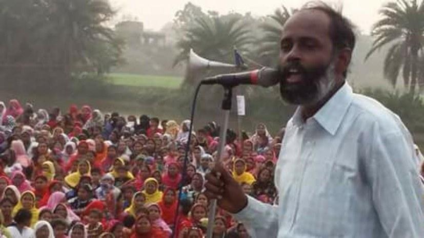 Montagsdemo solidarisch mit indischem Aktivisten