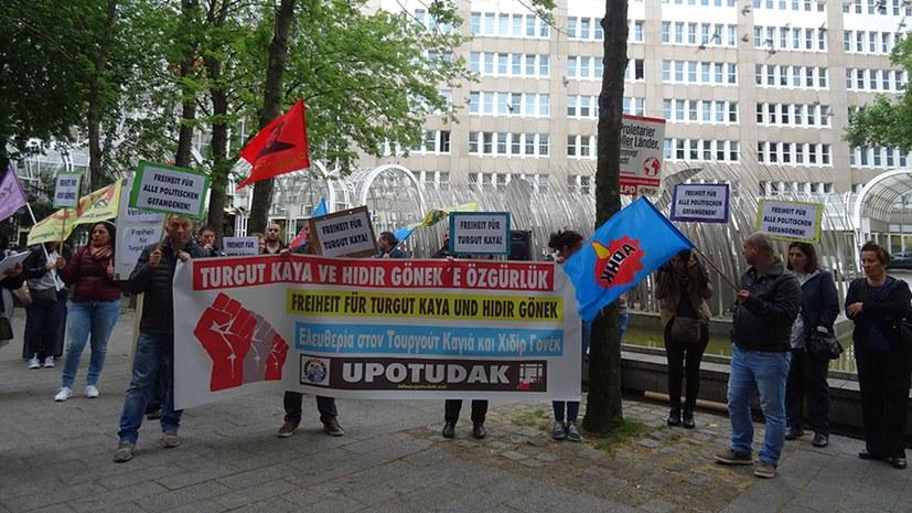Solidarität mit  Turgut Kaya: Keine Auslieferung an die Türkei!