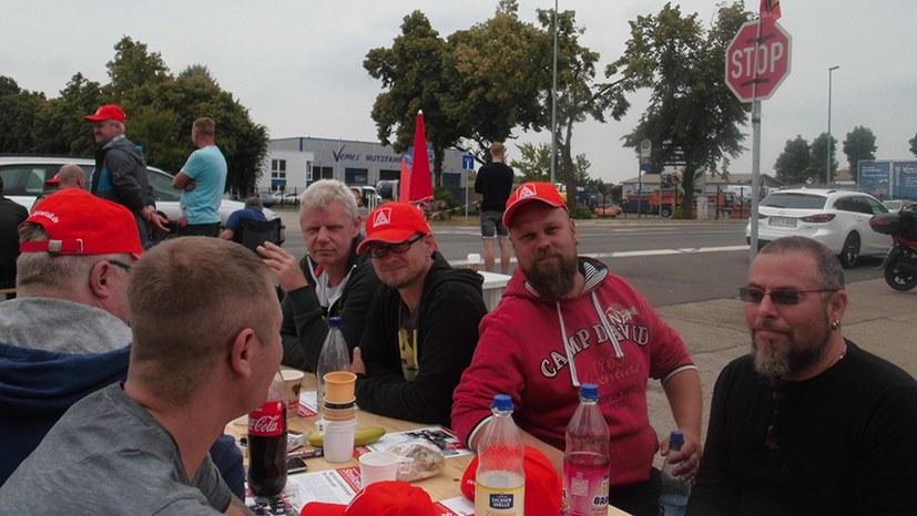 Unbefristeter Streik bei Halberg Guss