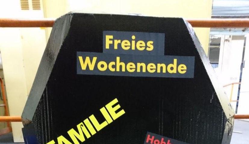 """""""Feierliche"""" Betriebsversammlung"""