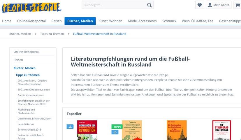 Fußball-Literaturtipps von People to People