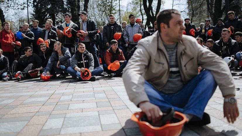 Bergarbeiter fordern Rücktritt des Energieministers