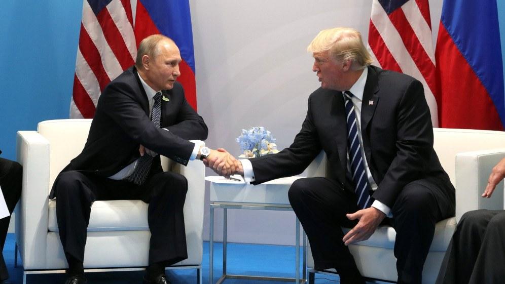 US-Präsident Trump gerät wegen Zugeständnissen an Putin unter Beschuss