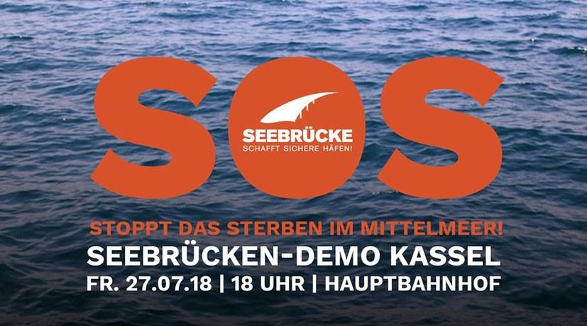 Bewegung für Seebrücke plant weitere Demos und Aktionen