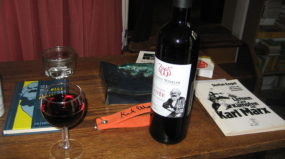 Wein und Wahrheit: Von und über Karl Marx (rf-foto)