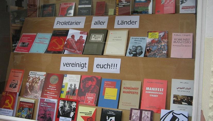 Buchladen feiert 200. Geburtstag von Karl Marx