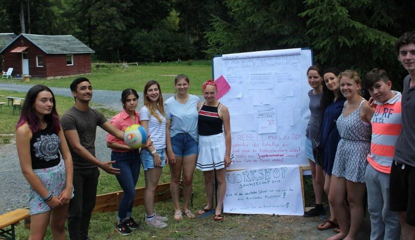 Drei neue Rebellen nach Workshop mit Lisa Gärtner