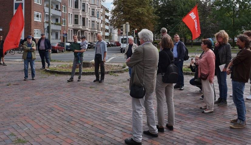 100 Jahre später - ein Platz zu Ehren der Novemberrevolution