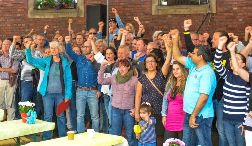Horster-Mitte-Sommerfest zeigt sich solidarisch