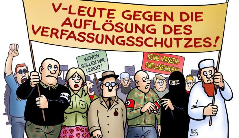 Der Rücktritt des Präsidenten des Bundesamts für Verfassungsschutz - Georg Maaßen - ist überfällig!