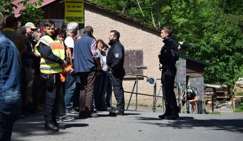 Es waren Seehofer und Maaßen, von denen die Angriffe auf die MLPD im Zusammenhang mit dem Rebellischen Musikfestival maßgeblich ausgingen (rf-foto)