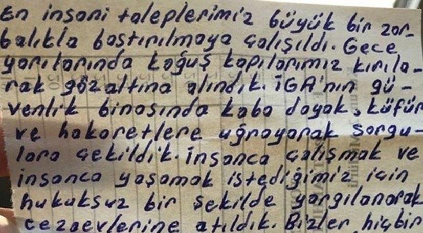 Ein Brief aus der Haft