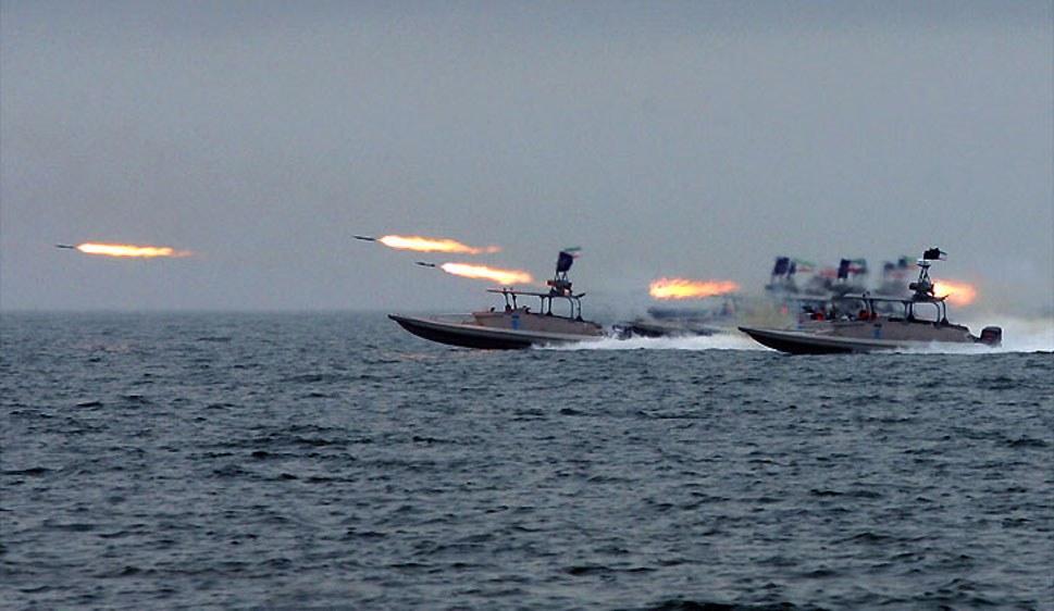 Patrouillenboote der iranischen