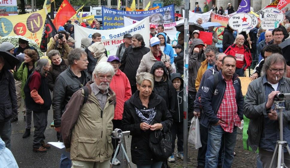 Auf der Herbsdemonstration 2016 in Berlin (rf-foto)