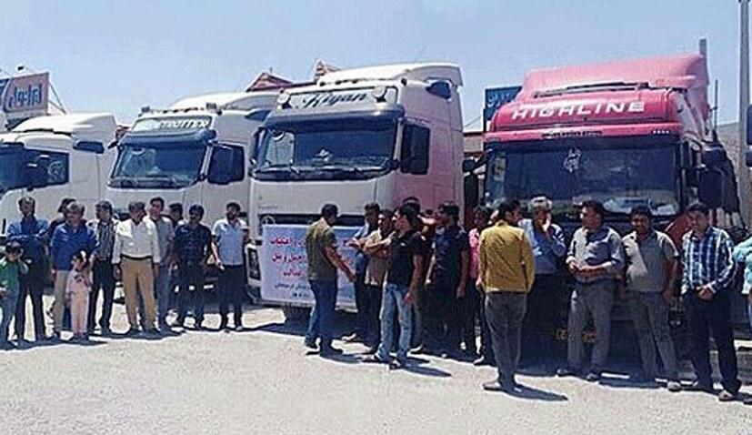 """LKW-Fahrer-Streik ist """"goldenes Blatt im Widerstandsprozess der Bevölkerung"""""""