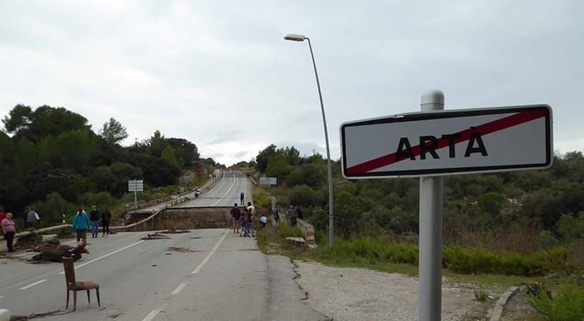 Unwetterkatastrophe auf Mallorca fordert Menschenleben