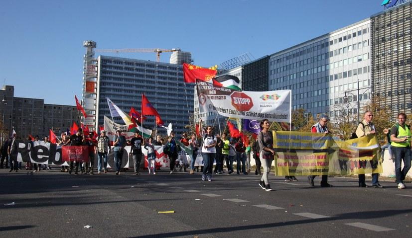 """Kampagne der """"Bild""""-Zeitung gegen das Internationalistische Bündnis"""