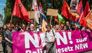 """So will die Laschet-Regierung kämpfende Arbeiter als """"Terroristen"""" kriminalisieren"""