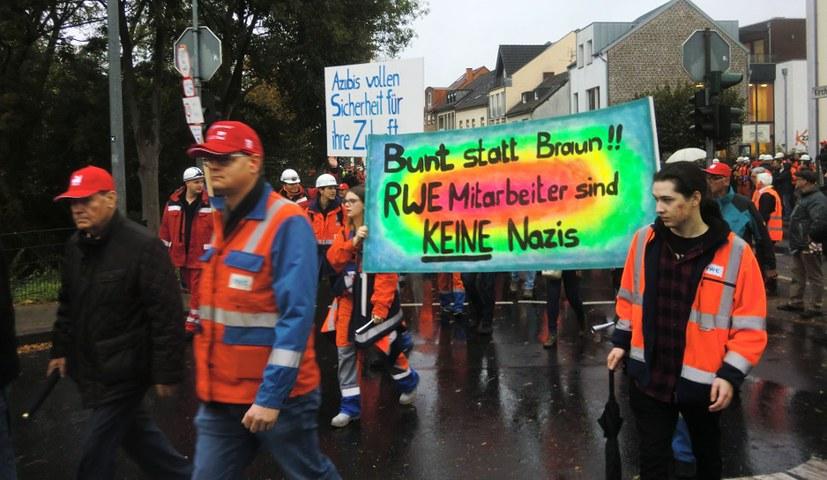 30.000 Braunkohlebeschäftigte demonstrieren für ihre Arbeitsplätze