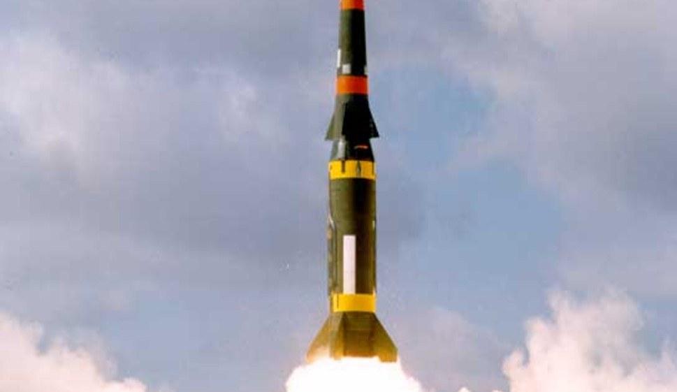 Startende US-amerikanische Mittelstreckenrakete (rf-foto)