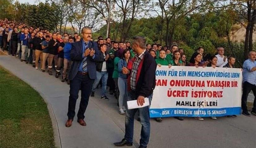 Mahle-Kolleginnen und Kollegen bereiten Streik vor