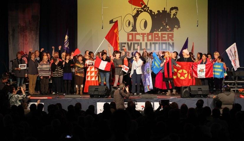 """""""100 Jahre Oktoberrevolution - Dokumentation einer Strategiedebatte"""""""