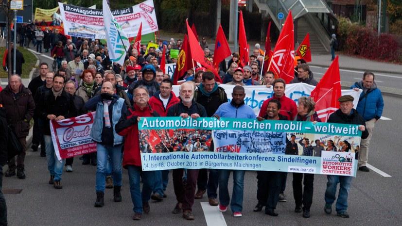 Beitritt zum Internationalistischen Bündnis