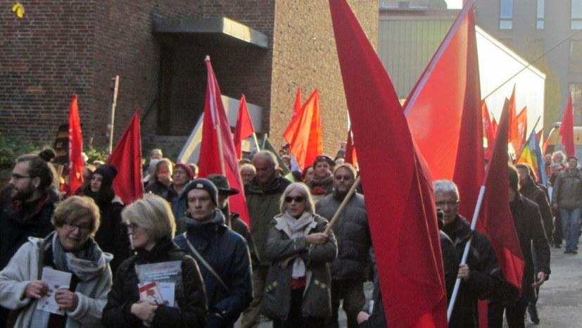 Gemeinsame Aktion zum Kieler Matrosenaufstand