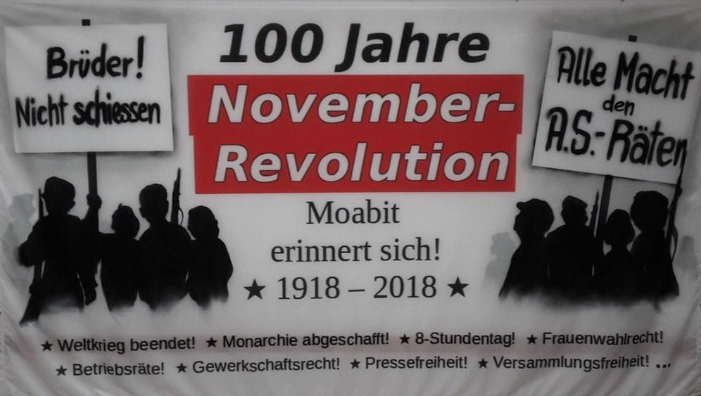 Internationales Gedenken zu 100 Jahre Novemberrevolution und Ende des I. Weltkriegs
