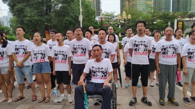 Breite internationale Solidarität gegen Unterdrückung der Jiashi-Arbeiter
