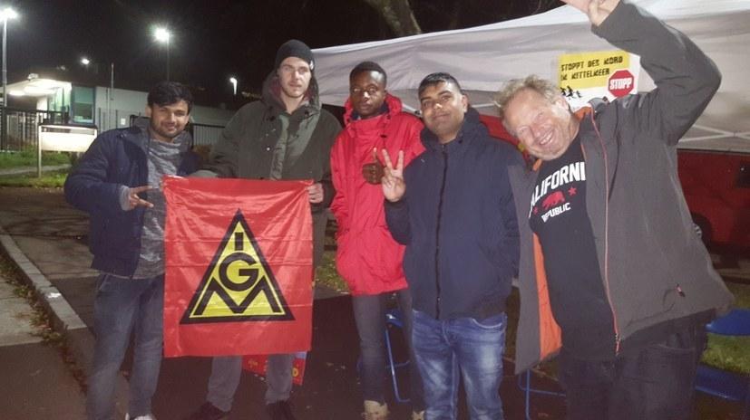 Abschiebung verhindert – organisierte Solidarität ist Trumpf