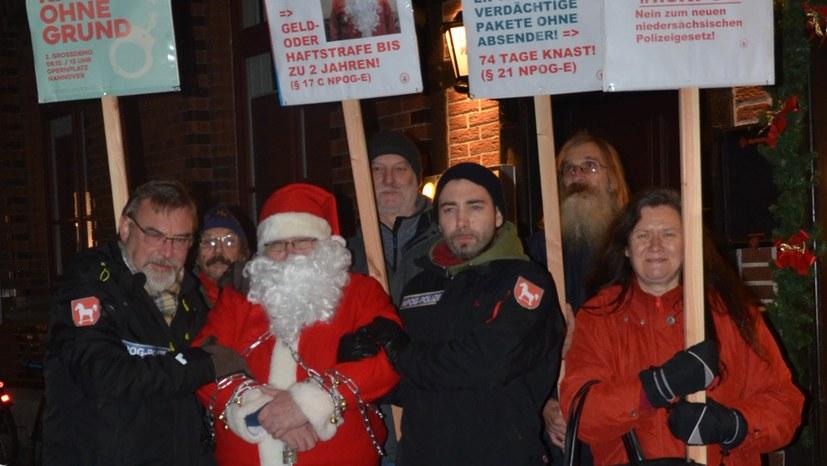 Braunschweig: Weihnachtsmann verhaftet!