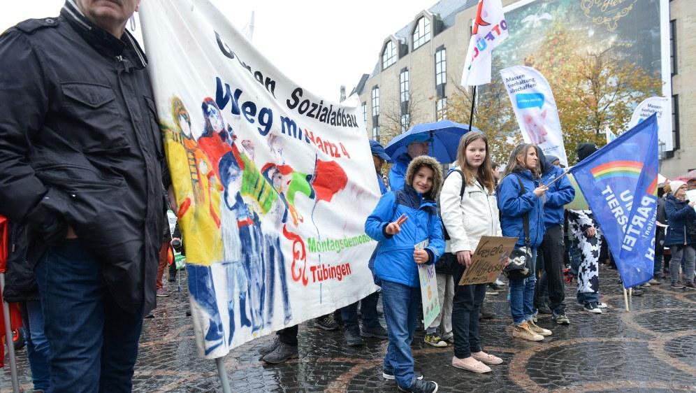 Die Jugend ist die Zukunft und deshalb bei den Protesten gegen die Klimapolitik der Monopole und ihrer Regierungen vorne dran (rf-foto)